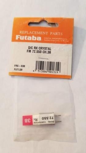 Futaba D/C RX Crystal FM 72.550 CH.38 FRC-838
