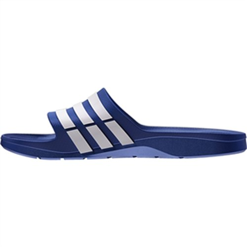 adidas Duramo Slide - Zuecos Unisex adulto Azul (New Navy/White/New Navy G14309)
