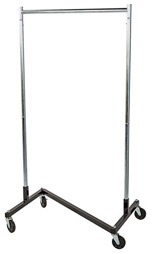 Used, SSWBasics Compact Clothing Rack (Z-Truck Rolling Rack) for sale  Delivered anywhere in USA