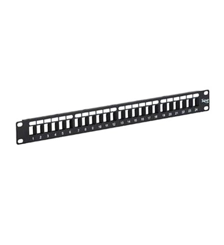 PATCH PANEL BLANK 24 PORT RMS