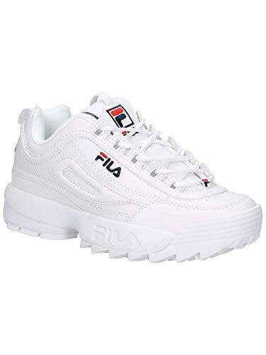 Fila Disruptor Turnschuhe Low White 10103021fg AxBwxgqv