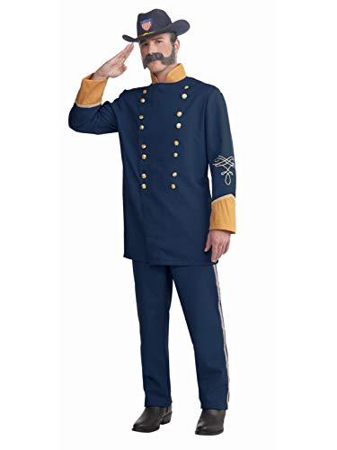 Forum Novelties Union Officer Costume, Blue, One Size Civil War Officer Hat