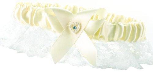Hortense B. Hewitt Wedding Accessories Garter, Ivory