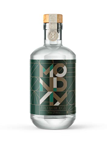 MONDAY Zero Alcohol Gin - A Non-Alcoholic Spirit for the Spirited Ones - 750ml