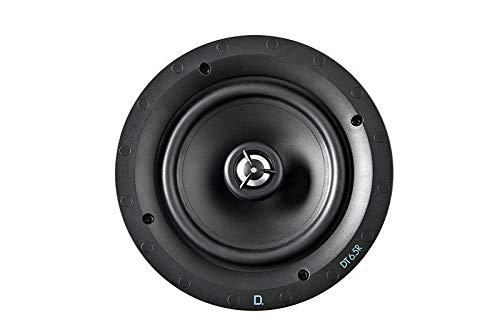 "Definitive Technology DT Series 6.5"" 2-Way In-Ceiling Speaker (Each) Black DT 6.5R"