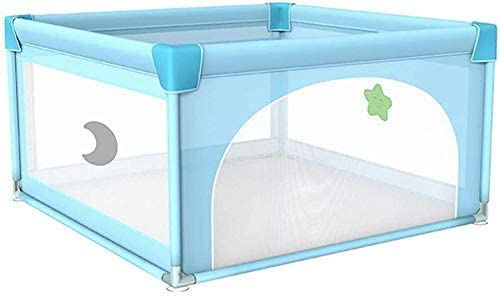 HAOT Baby playpen,Children's Playpen Puzzle Game Center Baby Safety Fence Portable Baby Playpen Children's Fence Kids Portable Anti-Fall Playpen Safety Barrier