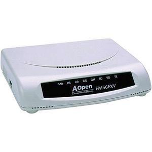 Aopen FM56 Exv - Fax / Modem - External - RS-232 - 56 Kbp...