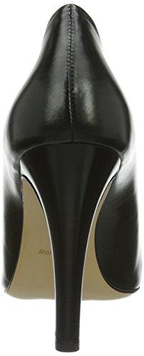 Evita Vestir de Mujer Shoes Negro cuero de Negro Zapatos HtwtUr