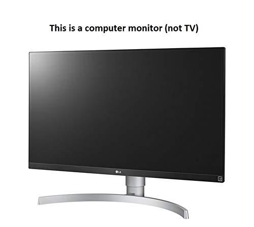LG 27UK650-W Monitor LED IPS UHD 4K de 27 pulgadas con HDR 10 y soporte ajustable
