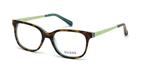 ccd2b831f7 Eyeglasses Guess GU 9175 052 dark havana at Amazon Men s Clothing store