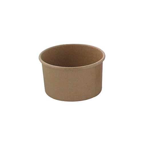 ice cream cups brown - 8