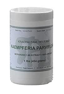 Tongkatali.org's Kaempferia Parviflora (Krachai Dam) Extract, 1 lbs (454 Grams) for a Tongkat Ali stack