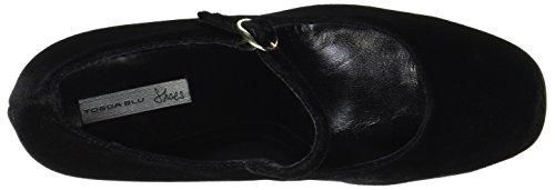 Cerrada Tacón con Nero Mujer Tosca BLU de Zapatos Negro Solden C99 para Punta I0SXHSB