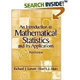 An Introduction to Mathematical Statistics and Its Applications - 3rd (Third) Edition
