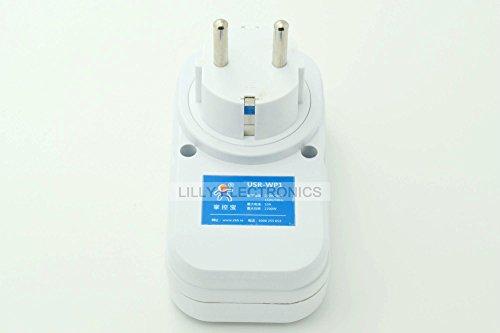 Intelligent Wifi Remote Control Power Socket USR-WP1 EU-Plug
