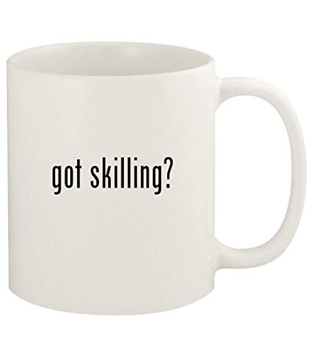 got skilling? - 11oz Ceramic White Coffee Mug Cup, White (Corporate Soft Skills Training Games And Activities)