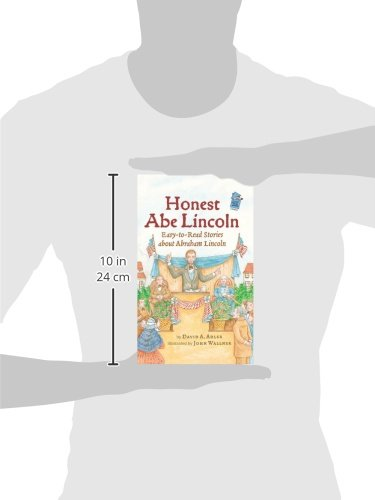 Honest Abe Lincoln: Easy-to-Read Stories about Abraham Lincoln (Holiday House Reader Level 2) by Holiday House (Image #1)