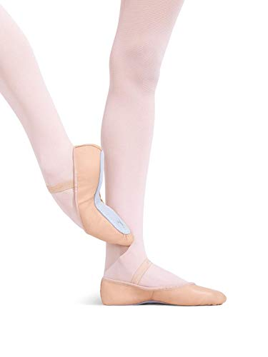 Capezio Daisy 205 Ballet Shoe (Toddler/Little Kid),Ballet Pink,8 N US Toddler (D Roses Shoes Youth)