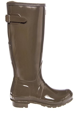 Boot Swamp Back Womens Adjustable Original Gloss Hunter Gloss Green Rain 0Z7Yxwq