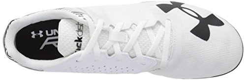 cheap sale with paypal discount official Under Armour Men's Kick Distance Spike White (102)/Black clearance best store to get cheap footlocker cheap real ieFzjc6W