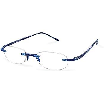 Scojo New York Gels The Original Reading Glasses - Cobalt (+1.00 Magnification Power)