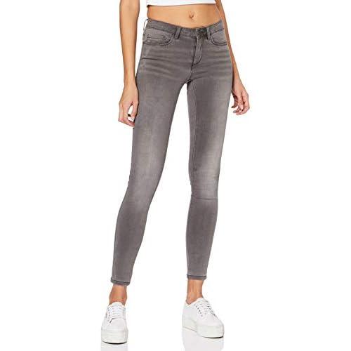 chollos oferta descuentos barato Only Onlroyal Reg SK Dnm Jeans Bj312 Vaqueros Dark Grey Denim 34 X Small para Mujer