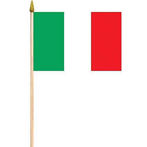 US Toy Italian Flag Theme Food Toothpicks (Lot of 144)