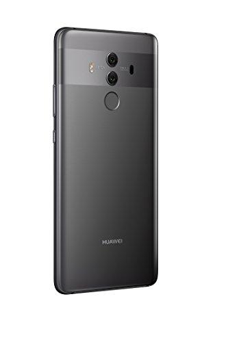 "31gP2%2B1q1uL - Huawei Mate 10 Pro Unlocked Phone, 6"" 6GB/128GB, AI Processor, Dual Leica Camera, Water Resistant IP67, GSM Only - Titanium Gray (US Warranty)"