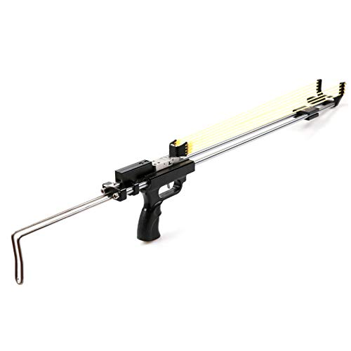 Wolf Smoothbore Mechanical Bow Slingshot Target Shooting Gun Hunting Fising Tools Long-Range Strike Catapult Bowsling Ammo Shot