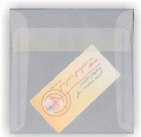 Holiday Translucent White 7.5 Square (7-1/2-x-7-1/2) Envelopes 25-pk - PaperPapers 113 GSM (30lb Writing) Quality Envelopes for Special Occasions and More, Square, Social and DIY Greeting Envelopes ()
