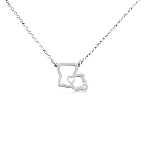 925-sterling-silver-small-louisiana-home-is-where-the-heart-is-home-state-necklace-18-inches