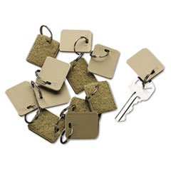 Extra Blank Velcro Tags, Velcro Security-Backed, 1 1/8 X 1, Beige, 12/pack By: SecurIT