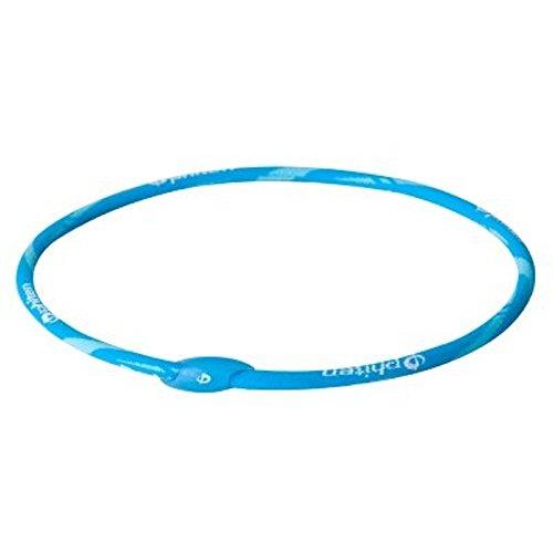 - Phiten Air Titanium Necklace, Aqua, 20-Inch