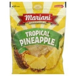 Mariani Tropical Dried Pineapple 5.5 Ounce (4 Packs), Travel Pack by Mariani