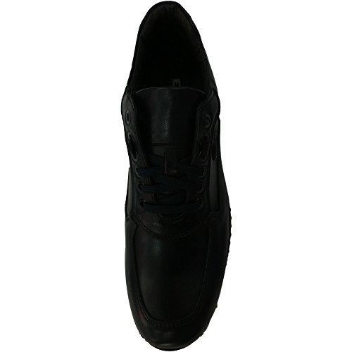 Scarpe Uomo Exton 2029 0728 - Sneaker Crust Blue Made In Italy Blu (41)