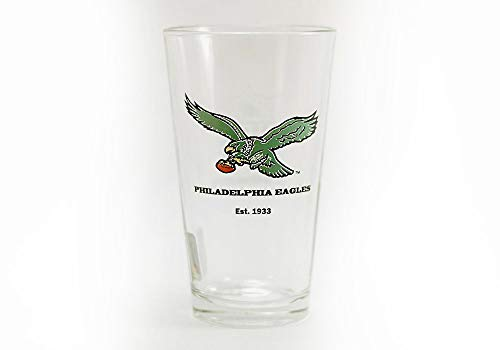 Philadelphia Eagles Vintage Logo 16 oz Pint Glass