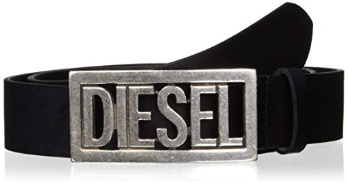 Diesel Men's B-OGO-Belt, black, 85 (Best Designer Belts 2019)