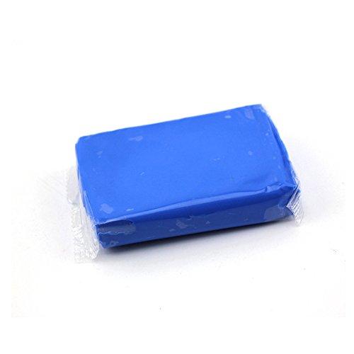 Reinigungsknete auto- von Nakeey für Lackreinigungsknete,160g Reinigungsknete zur Lackpflege und Felgenreinigung Blau