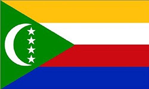 3x5 Comoros Flag Union Banner Indian Ocean Island Pennant