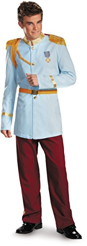 Prince Charming Prestige Costume - X-Large - Chest Size (Prince Charming Costume Men)