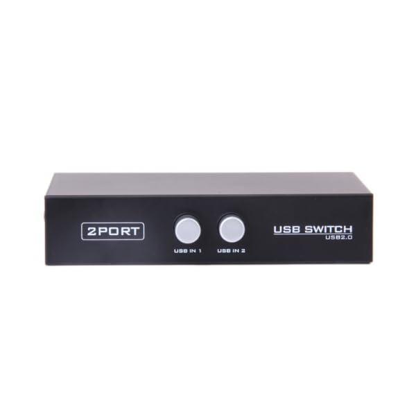 Generic USB 2.0 Sharing Switch 2 Port for Printer Scanner