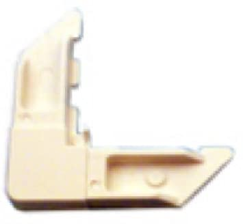 "Prime-Line Frame Corner 3//4/"" X 5//16/"" Nylon White Carded 4"
