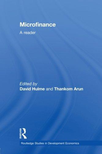 Microfinance: A Reader (Routledge Studies in Development Economics)
