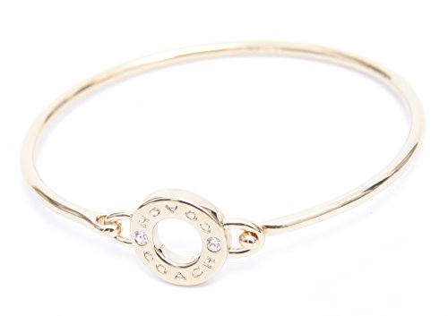 COACH OPEN CIRCLE BANGLE BRACELET (GOLD) - Open Circle Bangle