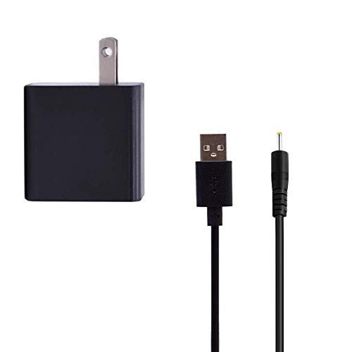 Superer AC Wall Charger Replacement for Dragon Touch Y88X Plus 7 Inches Kids Tablet with Power Supply Adapter Cord Data Chargering Cable US Plug