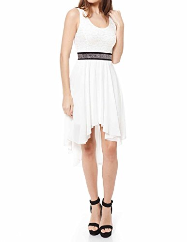 Buy belted aztec lace dress - 1