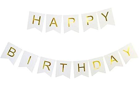 Lovely Banner Feliz cumpleaños guirnalda banderín guirnaldas ...