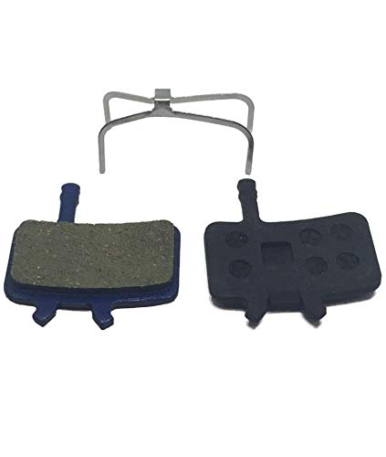 Hardheaded Ram Disc Brake Pads Resin-Organic for Avid-BB7 Juicy-3-5-7-Carbon Ultimate. Fast Break-in on Mountain-Bike or Road- Bicycle. Excellent Cycling Upgrade. ()