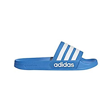 adidas Mens B42211 Adilette Shower Blue Size: 4