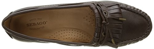 Sebago Meriden Kiltie - Bailarinas Cerradas de Cuero Mujer Marrón (dk brown leather)